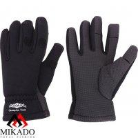 Перчатки рыболовные неопреновые Mikado UMR-00 размер XL