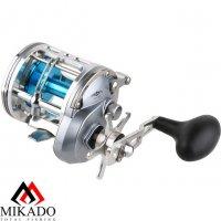 Катушка мультипликаторная Mikado BALTIC COD ALCV 30 left handle (4+1 подш.; 6,2 :1)