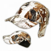 Кепка BROWNING демисезонная, утепленная, тк. Polyester, подкл. флис, цв. зимний лес