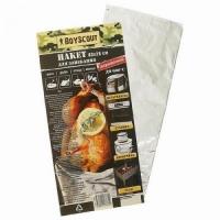 Пакет для запекания, 43*28 см., фольгированный, до 600 C (Россия) (2483294)