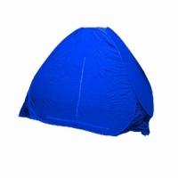 Палатка автомат зимняя, 170*170см, h-150см, с дном на молнии, цвет синий (арт.A)