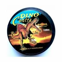 Леска DINO Contra 100м, 0,35мм, тест 13.50 кг, цв. Коричневый