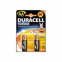 Элемент питания DURACELL LR06, MN1500 (2 батарейки в блистере) (20) (AA (пальч.)) (6004)
