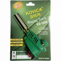 Горелка газовая KOVICA KS-1005, с пъезоподжигом, на блистере (Made in Korea)