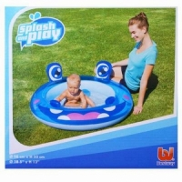 Бассейн-Игровой центр надувной BESTWAY, Hippo Play Pool, размер: 98*33см., 52180b (12)