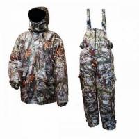 Костюм зимний REAL TREE куртка с отстёг. подкладкой, ткань Мембрана, цв. камыш, р-р 50