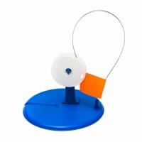 Жерлица круглая с прямой стойкой, d 180мм, катушка d 80мм, цвет в ассортименте (10 шт/уп)