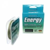 Шнур плетеный зимний ENERGY 25м 0,06 (зеленый)