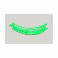 Кембрик LUMICOM силиконовый, d-2x4, дл.-16см, зеленый флюоресцентный (4 шт./уп.)