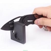 Точилка универсальная для заточки ножей, ножниц и др., 45*52*10 мм.  (50)
