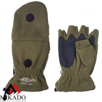 Перчатки рыболовные флисовые Mikado UMR-08G размер XL