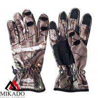 Перчатки рыболовные Mikado UMR-07 размер XL