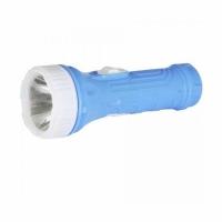 Фонарь ULTRAFLASH 828-TH (голубой, 1LED, 1 реж., 3xAG10 в комплекте, пласт. блист.-пакет)