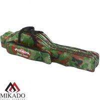 Чехол для удилищ Mikado 2 секционный 80 см. камуфляжный