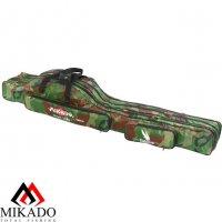 Чехол для удилищ Mikado 3 секционный 140 см. камуфляжный