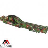 Чехол для удилищ Mikado 2 секционный 140 см. камуфляжный