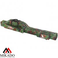 Чехол для удилищ Mikado 2 секционный 150 см. камуфляжный