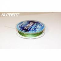 Шнур плетеный зимний KUTBERT, ICE POLAR, 25 м, цвет темно-зеленый, 0,06 мм