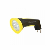 Фонарь ULTRAFLASH LED 3804M(аккум 220В, Черн/желтый, 4 LED, SLA, пластик, коробка.)