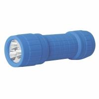 Фонарь ULTRAFLASH 918-ТН (синий, 3LED,1 реж, 3XR03,пласт, блист-пакет)
