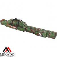 Чехол для удилищ Mikado 2 секционный 160 см. камуфляжный
