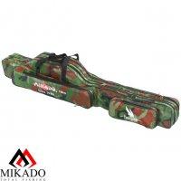 Чехол для удилищ Mikado 2 секционный 120 см. камуфляжный