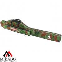 Чехол для удилищ Mikado 1 секционный 140 см. камуфляжный