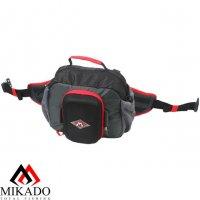 Сумка спиннингиста на пояс Mikado M-BAG UWI-M010 (27x24x9.5 см)