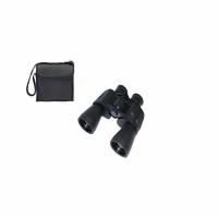 Бинокль TASCO 20х50 тип призмы Porro, со шнурком и салфеткой, в чехле, цвет черный (20)