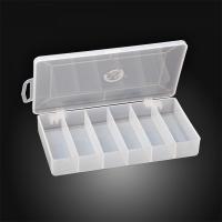 Коробка  рыболовная, для твистеров 185*100*30мм, 6 отделений, СВ-1