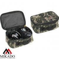 Сумка для рыболовных катушек Mikado R002P (20 х 13.5 х 9см.) камуфляжная
