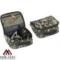 Сумка для рыболовных катушек Mikado R003P (24 х 20 х 12см.) камуфляжная