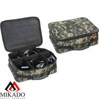 Сумка для рыболовных катушек Mikado R004P (38 х 29 х 13см.) камуфляжная