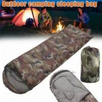 Мешок спальный, одеяло с подголовником, 200*70, темп. до -10, цв. КМФ, полиэстер (JJSD-012(04)(20)