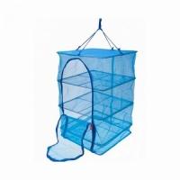 Сушилка для рыбы №4 (XL), квадратная В65*Ш50*Г50 см, тк. капрон, цв.синий