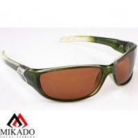 Очки поляризационные Mikado 86004 (коричневые линзы)