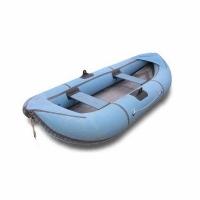 Лодка Уфимка 22 резиновая, с гребками, 260см*118см., борт 350, грузопод. 220кг., масса 13кг.