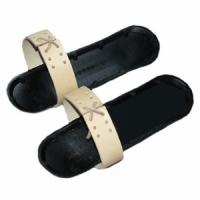 Комплект креплений для промысловых лыж МАЯК кожа (аморт., носковой ремень)