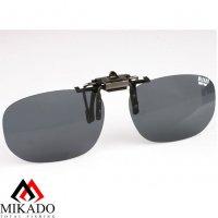 Насадка на очки поляризационная Mikado CPON-GY (серые линзы)