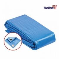 Тент-укрытие Helios, универсальный, 4*6, с люверсами, ткань:армир.полипроп. 60г/м2, цв.синий