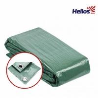 Тент-укрытие Helios, универсальный, 4*6, с люверсами, ткань:армир.полипроп. 90г/м2, цв.зеленый