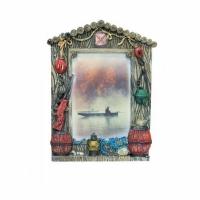 Фото-рамка керамическая Удачной охоты, настольная, размер 21,5х15,5 см, для фото 10 х 15 см