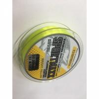 Леска CHIMERA SPORTMAXX Fluorocarbon Coating Bright Yellow  50 м., 0.25 мм цвет желтый