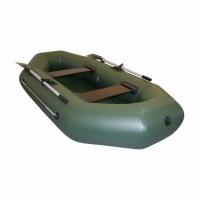 Лодка ТОНАР ПВХ Бриз 240 (2 мест., р-р 240*123 см.) с веслами, с сиденьями, до 200 кг., 2 герм. отсек