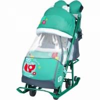 Санки - коляска Disney-Baby 1 трехточечн рем.безопасности,чехол для ног на молнии, Д1065хШ310хВ285