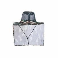 Шляпа Сафари, летняя, с ветро-солнце защитой, цв. КМФ зелен.-корич. (JP11(1-2))