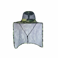 Шляпа Сафари, летняя, с ветро-солнце защитой, цв. КМФ зелен. (JP11(1-2))