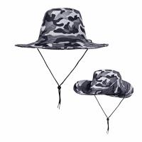 Шляпа, камуфлированная с широкими полями, цв. серый  (JP2-(1-5))