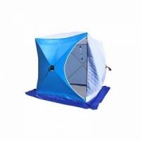 Палатка СТЭК КУБ 1 (трехслойная), размер 1,50*1,50 м., высота 1,70 м., вес 8,5 кг.