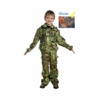 Костюм детский COSMO-TEX Трансформер, тк.Смесовая, цв.Лес, рост 116 (ДетКам)
